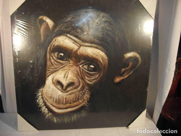 OLEO SOBRE LIENZO CHIMPANCE (Arte - Pintura - Pintura al Óleo Contemporánea )