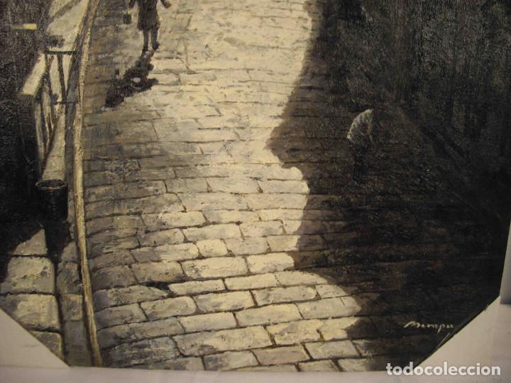 Arte: OLEO SOBRE LIENZO CALLE TIBETANA - Foto 5 - 192254910