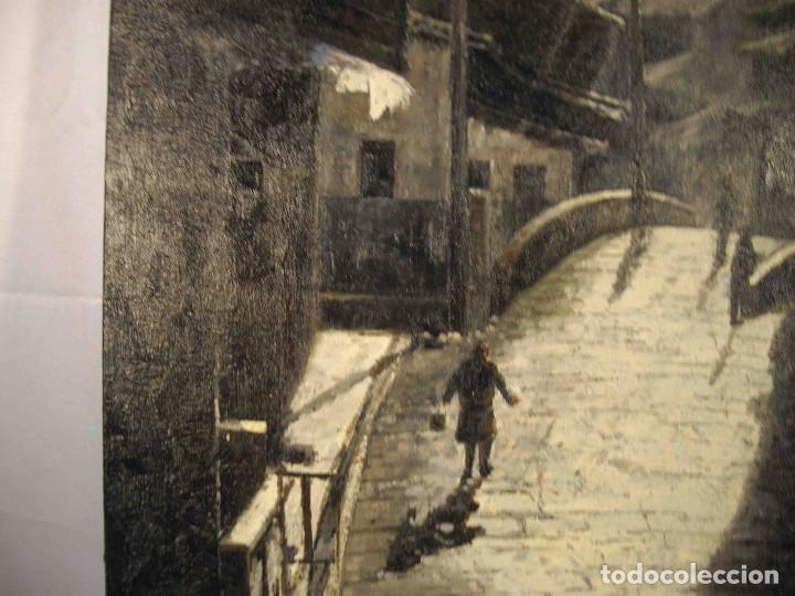 Arte: OLEO SOBRE LIENZO CALLE TIBETANA - Foto 6 - 192254910