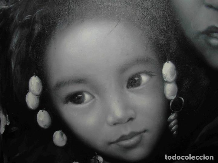 Arte: OLEO DOS NIÑAS TIBETANAS - Foto 4 - 192255231