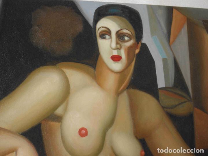 Arte: OLEO DOS MUJERES DESNUDAS - Foto 3 - 192255701