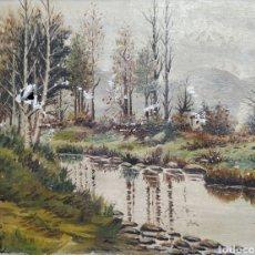 Arte: PAISAJE DEL PINTOR G.CASTRILLO. Lote 192275147