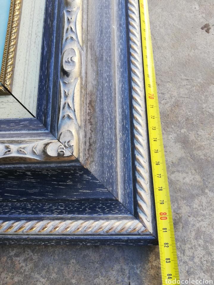 Arte: Precioso cuadro de pintura a mano firmada con marco de madera tema de playa estilo Sorolla - Foto 9 - 186310597