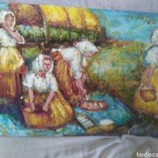 Arte: EN LA COSTA (ORIGINAL). Lote 192723551