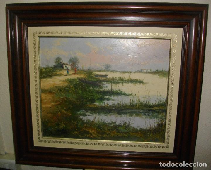 E. BELTRAN MESSA ( 1940-2006) VALENCIA -- OLEO BSOBRE LIENZO ( 70 X 61CTMS ) FIRMADO (Arte - Pintura - Pintura al Óleo Contemporánea )