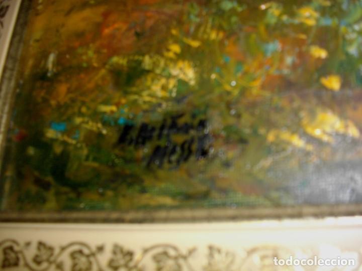 Arte: E. BELTRAN MESSA ( 1940-2006) VALENCIA -- OLEO BSOBRE LIENZO ( 70 X 61CTMS ) FIRMADO - Foto 4 - 192839518