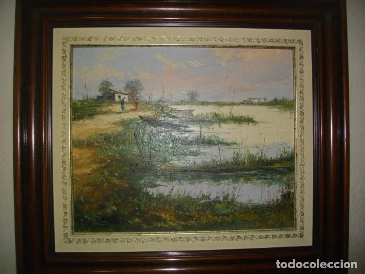 Arte: E. BELTRAN MESSA ( 1940-2006) VALENCIA -- OLEO BSOBRE LIENZO ( 70 X 61CTMS ) FIRMADO - Foto 7 - 192839518
