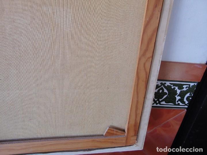 Arte: PINTURA OLEO SOBRE LIENZO BARCOS ACORAZADOS GUERRA TEMA MARINO MARINA BANDERA DE ESPAÑA FIRMADO - Foto 27 - 192894471