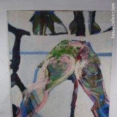 Arte: OLEO SOBRE TELA DE XAVIER RUSCALLEDA. Lote 192960620
