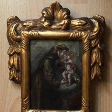 Arte: ÓLEO SOBRE COBRE DE TEMÁTICA RELIGIOSA. Lote 193076082