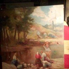 Arte: MERCADER J.I. - LAVANDERAS .. Lote 193116455