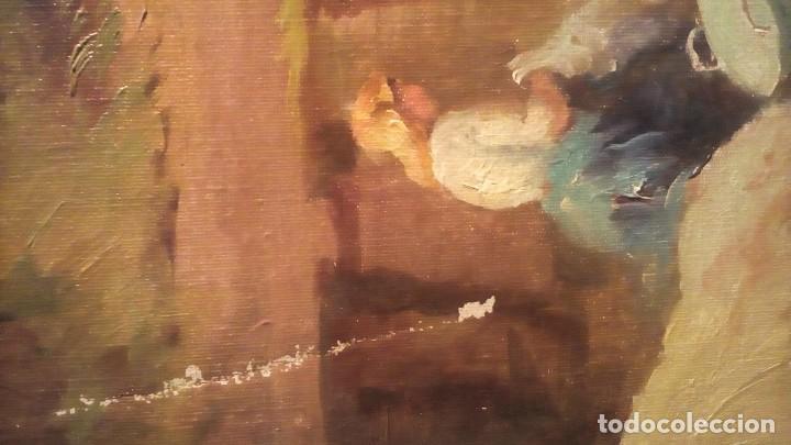 Arte: MERCADER J.I. - LAVANDERAS . - Foto 4 - 193116455