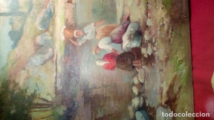 Arte: MERCADER J.I. - LAVANDERAS . - Foto 6 - 193116455
