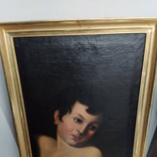 Arte: ÓLEO SOBRE LIENZO APOLO O EFEBO. FINALES SIGLO XVIII.. Lote 193186722