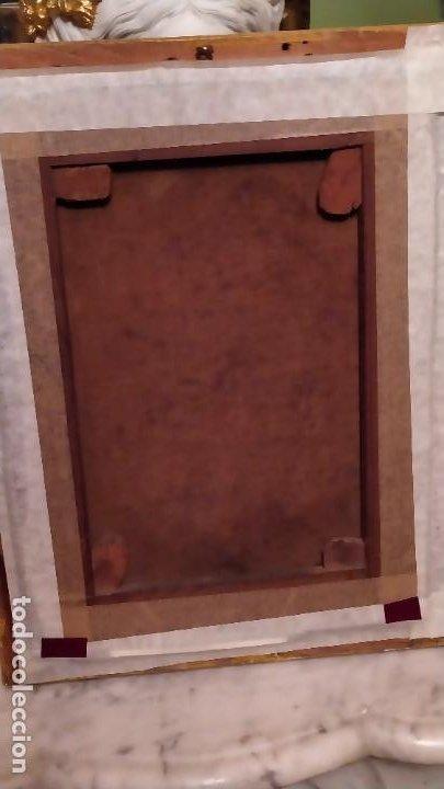 Arte: Oleo Señora en jamuga, pintor Ignacio Pinazo Camarlench, Valencia s. XIX Certificado de Autenticidad - Foto 18 - 45361089
