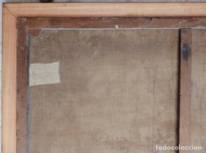 Arte: El mercado de la esclavitud. Escuela flamneca. Siglo XVII. Óleo/Lienzo. Med: 154 x 99 cm. - Foto 31 - 193284005