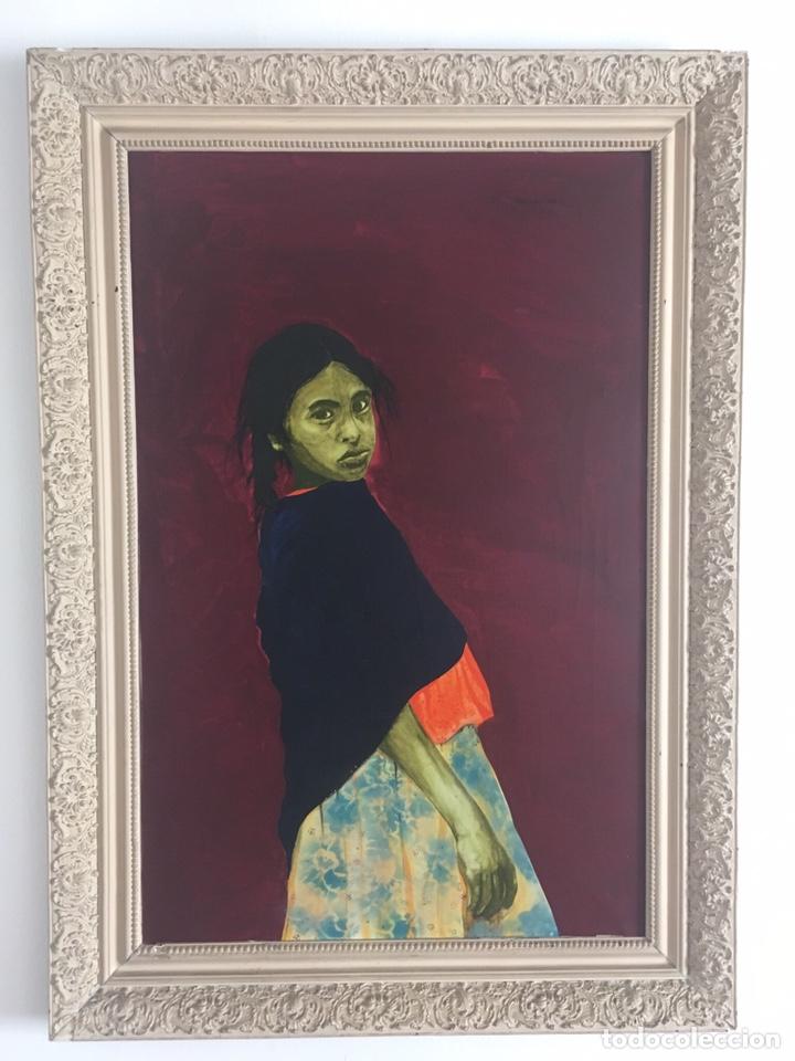 Arte: RAMÓN JESÚS VIVES (Barcelona 1939) Una joven Oleo sobre lienzo 65x100cm Firmada y fechada 1974 - Foto 2 - 193292450
