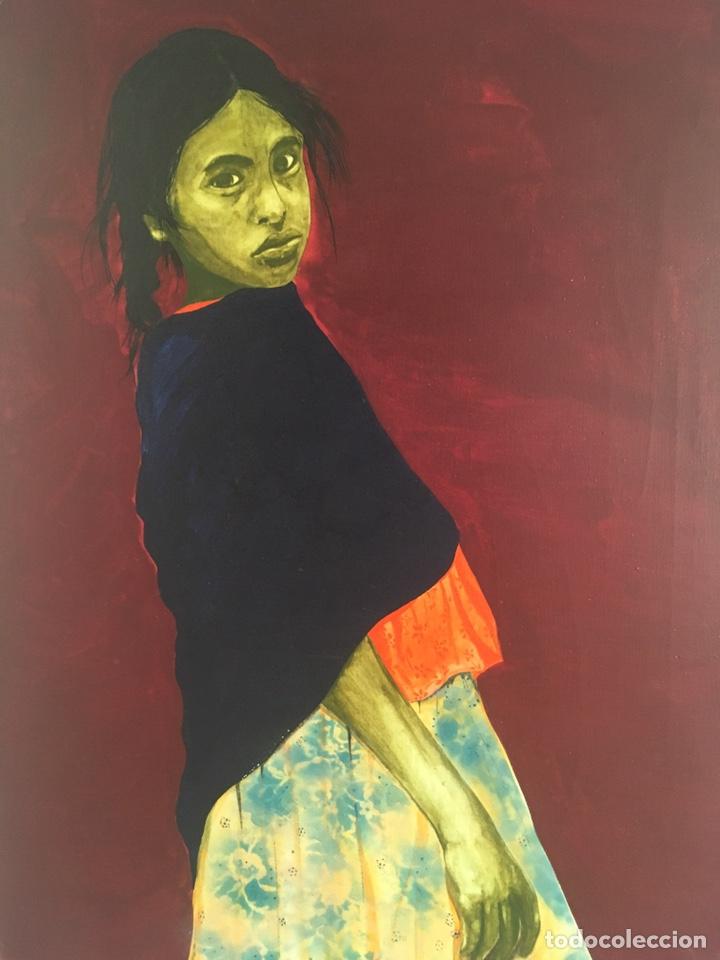 Arte: RAMÓN JESÚS VIVES (Barcelona 1939) Una joven Oleo sobre lienzo 65x100cm Firmada y fechada 1974 - Foto 4 - 193292450