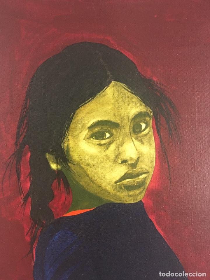 Arte: RAMÓN JESÚS VIVES (Barcelona 1939) Una joven Oleo sobre lienzo 65x100cm Firmada y fechada 1974 - Foto 5 - 193292450