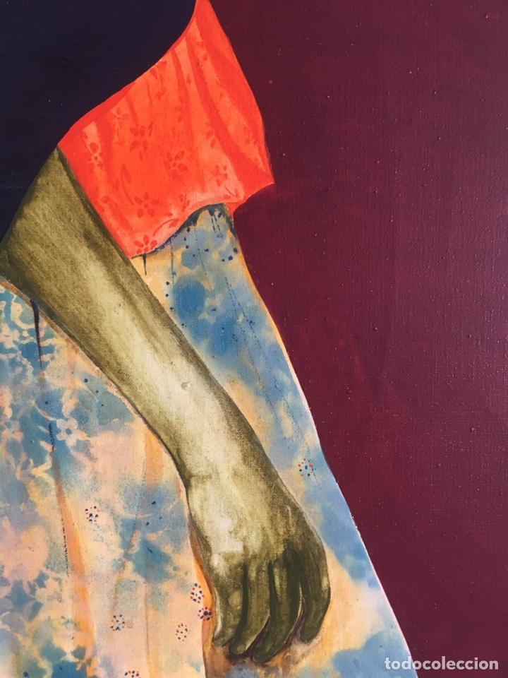 Arte: RAMÓN JESÚS VIVES (Barcelona 1939) Una joven Oleo sobre lienzo 65x100cm Firmada y fechada 1974 - Foto 7 - 193292450