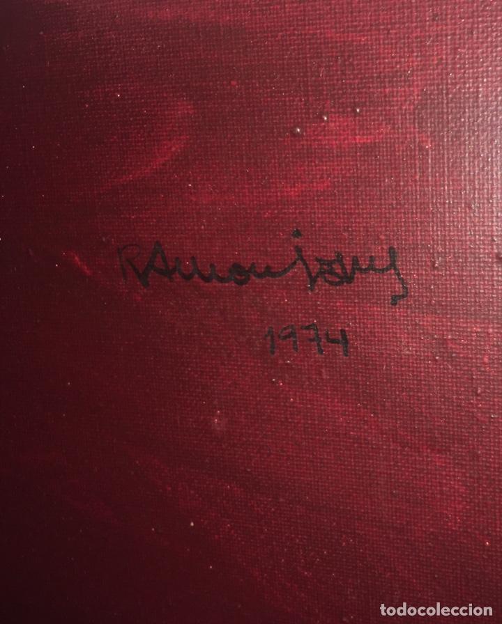 Arte: RAMÓN JESÚS VIVES (Barcelona 1939) Una joven Oleo sobre lienzo 65x100cm Firmada y fechada 1974 - Foto 8 - 193292450