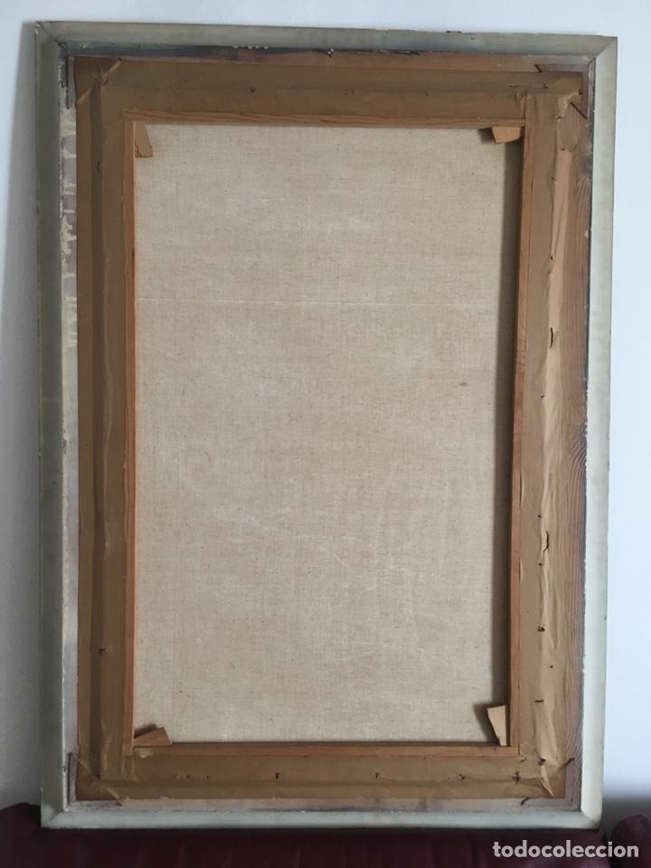 Arte: RAMÓN JESÚS VIVES (Barcelona 1939) Una joven Oleo sobre lienzo 65x100cm Firmada y fechada 1974 - Foto 9 - 193292450