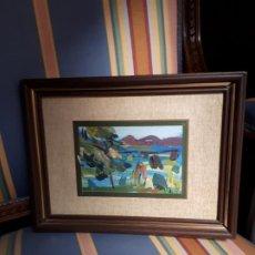 Arte: PINTURA ALICANTINA OLEO XAVIER SOLER. Lote 193324631