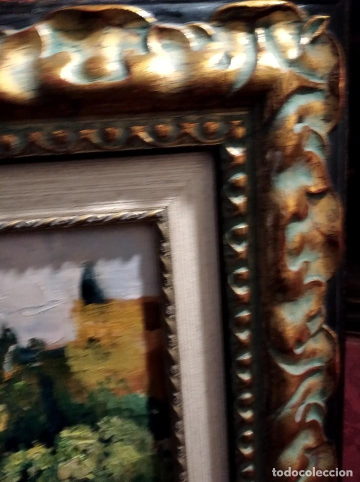 Arte: JOSÉ CRUZ HERRERA. TABLA 53x44. CERTIFICADO. VISTA DE GRANADA. - Foto 2 - 69656705