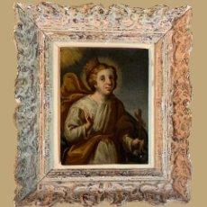 Arte: SANTA ISABEL DE HUNGRIA, ESC. NAPOLITANA S. XVII. Lote 193344355