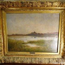 Arte: O/L LOUIS BOULANGER (1806-1867) FRANCIA, ROMANTICISMO. Lote 193699361