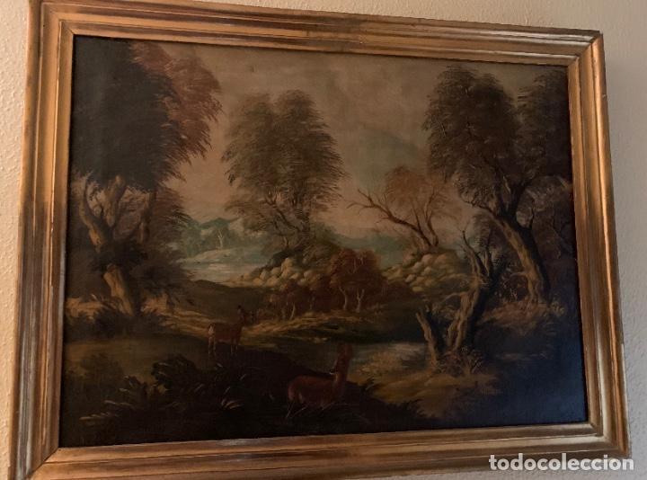 CUADRO PAISAJISTA ANTIGÜEDADES (Arte - Pintura - Pintura al Óleo Antigua sin fecha definida)