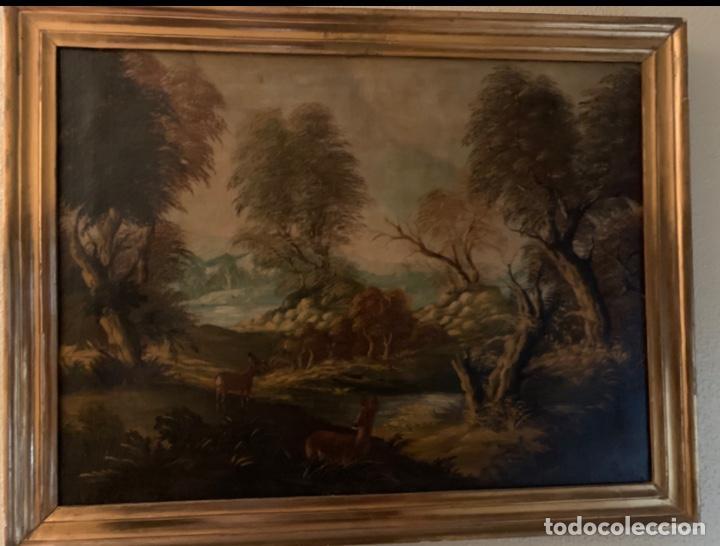 Arte: Cuadro Paisajista Antigüedades - Foto 5 - 193740505