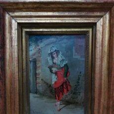 Arte: MANOLA DEL PINTOR ADOLFO DE AGUILA PIMENTEL . Lote 193746798