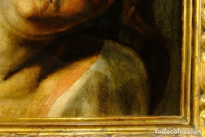Arte: Óleo sobre lienzo Joven Escuela francesa siglo XVIII - Foto 4 - 193751711