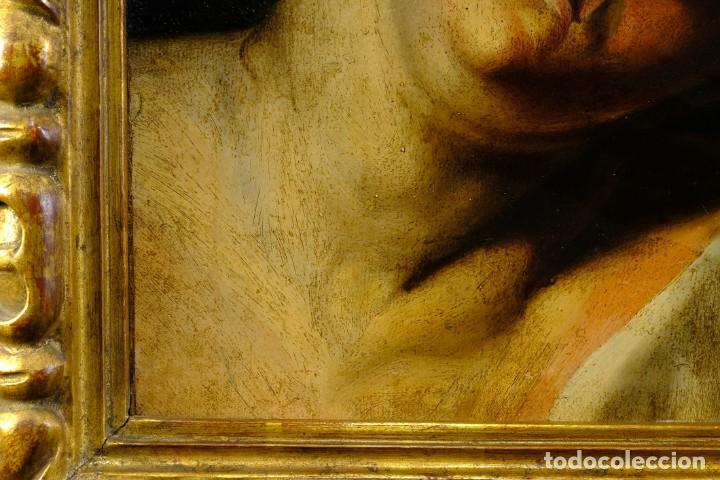 Arte: Óleo sobre lienzo Joven Escuela francesa siglo XVIII - Foto 5 - 193751711