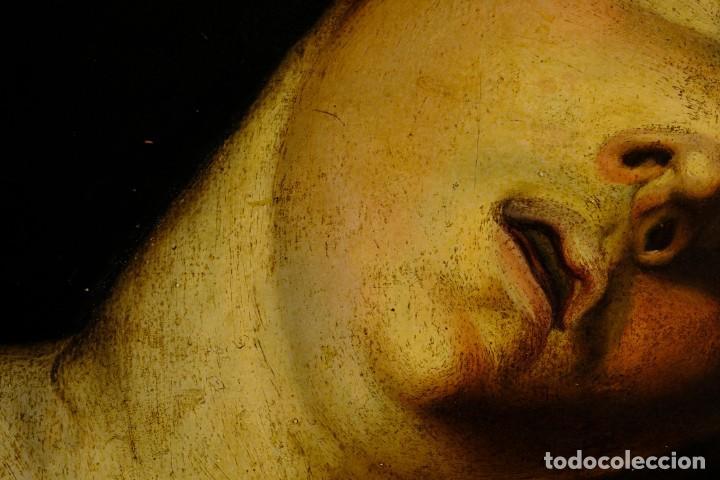 Arte: Óleo sobre lienzo Joven Escuela francesa siglo XVIII - Foto 6 - 193751711