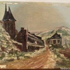 Arte: OLEO SOBRE PANEL, FIRMADO PINOS 1997, SIN ENMARCAR, 28X23CM. Lote 193770118