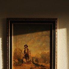 Arte: EXCELENTE ÓLEO COSTUMBRISTA - BANDOLEROS - CONTRABANDISTAS - TRABUCO - ESCUELA ANDALUZA - CIRCA 1800. Lote 193782881