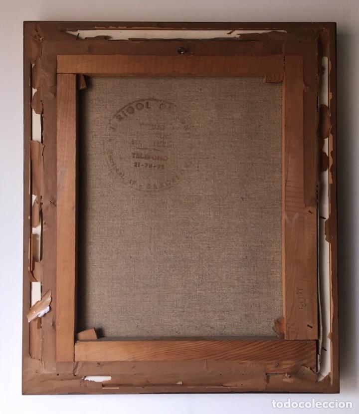 Arte: FÉLIX REVELLO DE TORO (Málaga 1926) Óleo sobre lienzo 38.5x46.5cm (soporte)Firmado y fechado en 1969 - Foto 9 - 193793938