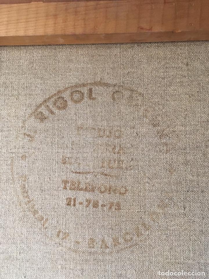 Arte: FÉLIX REVELLO DE TORO (Málaga 1926) Óleo sobre lienzo 38.5x46.5cm (soporte)Firmado y fechado en 1969 - Foto 10 - 193793938
