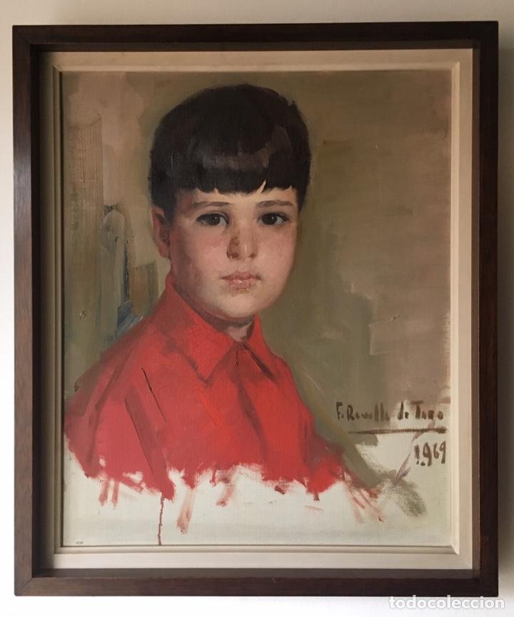 FÉLIX REVELLO DE TORO (MÁLAGA 1926) ÓLEO SOBRE LIENZO 38.5X46.5CM (SOPORTE)FIRMADO Y FECHADO EN 1969 (Arte - Pintura - Pintura al Óleo Contemporánea )