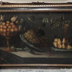 Arte: BODEGÓN VALENCIANO DEL SIGLO XVII,TALLER DE TOMAS HIEPES.. Lote 193816771
