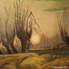 Arte: PINTURA ITALIANA FIRMADA DE PAISAJE EN ESTILO IMPRESIONISTA. Lote 193817982