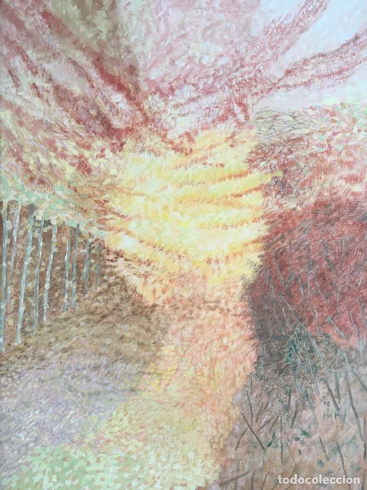 Arte: ESTHER BOIX (Girona, 1927 - 2014) Óleo sobre lienzo 81x 60cm Colección particular de la artista - Foto 3 - 193859493