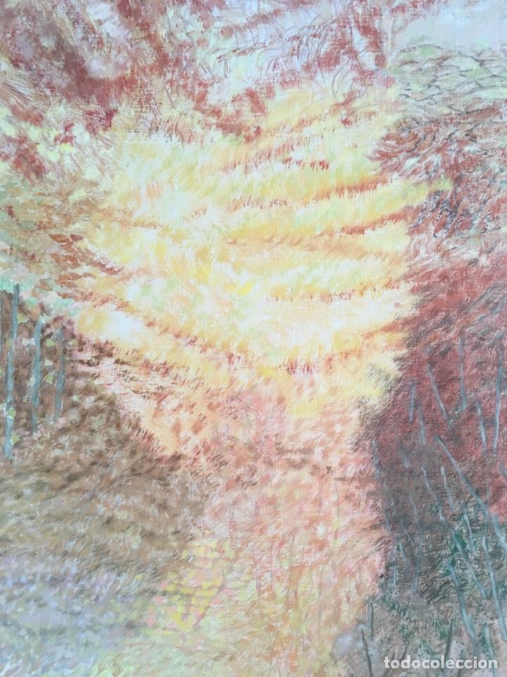 Arte: ESTHER BOIX (Girona, 1927 - 2014) Óleo sobre lienzo 81x 60cm Colección particular de la artista - Foto 4 - 193859493
