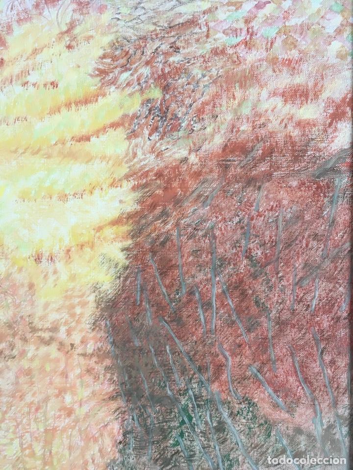 Arte: ESTHER BOIX (Girona, 1927 - 2014) Óleo sobre lienzo 81x 60cm Colección particular de la artista - Foto 5 - 193859493