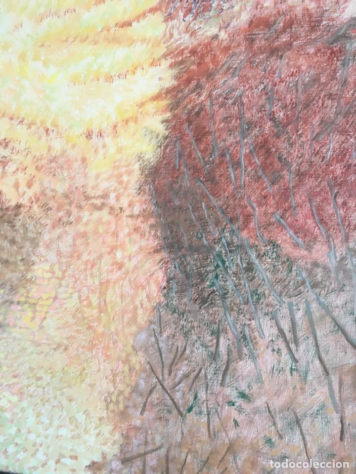 Arte: ESTHER BOIX (Girona, 1927 - 2014) Óleo sobre lienzo 81x 60cm Colección particular de la artista - Foto 7 - 193859493