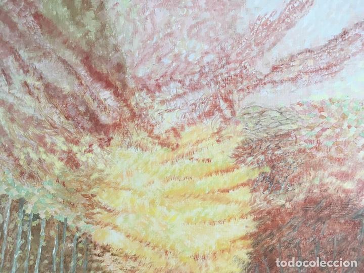 Arte: ESTHER BOIX (Girona, 1927 - 2014) Óleo sobre lienzo 81x 60cm Colección particular de la artista - Foto 8 - 193859493
