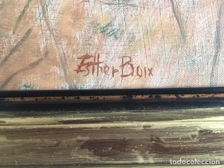 Arte: ESTHER BOIX (Girona, 1927 - 2014) Óleo sobre lienzo 81x 60cm Colección particular de la artista - Foto 9 - 193859493