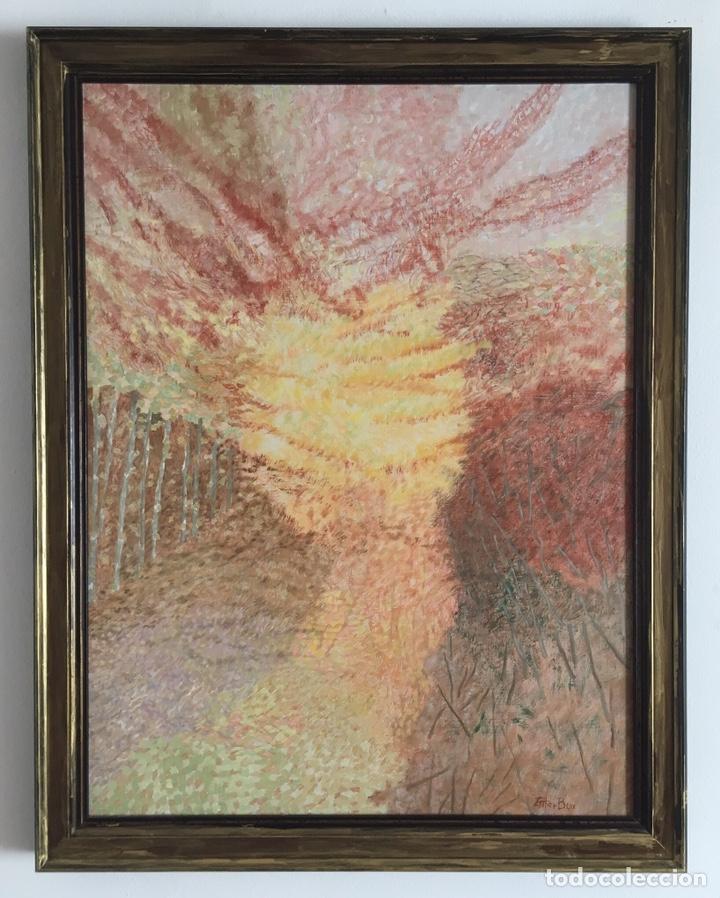 ESTHER BOIX (GIRONA, 1927 - 2014) ÓLEO SOBRE LIENZO 81X 60CM COLECCIÓN PARTICULAR DE LA ARTISTA (Arte - Pintura - Pintura al Óleo Contemporánea )